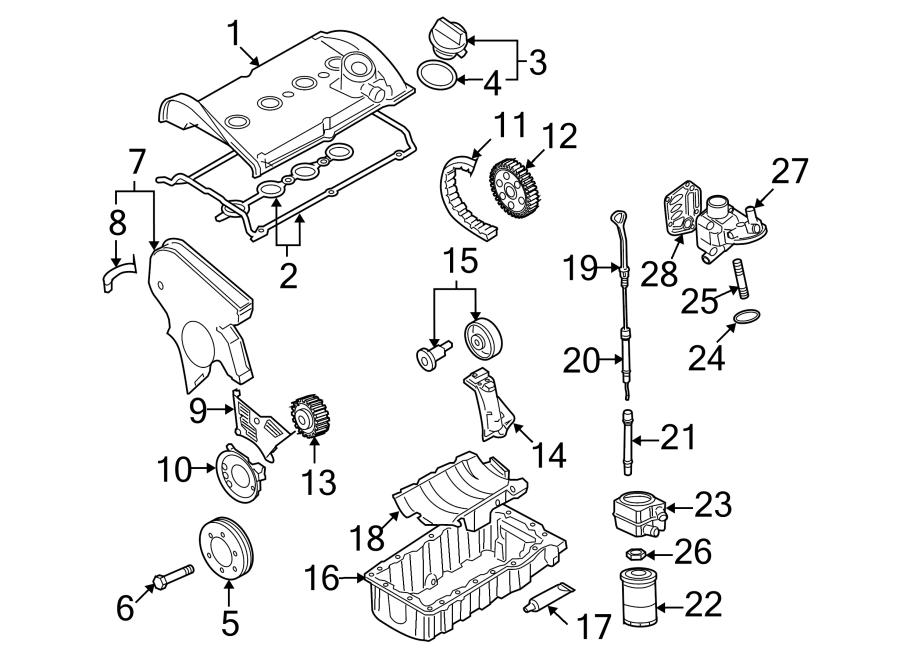 volkswagen beetle engine valve cover  trans  bearings