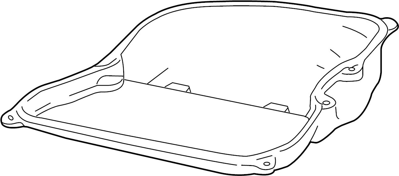 volkswagen oil pan diagram